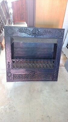 Vintage Ornate  Fireplace  Insert