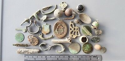 Superb Detecting mixed lot from Roman to Vintage nice cleaning project. L69f
