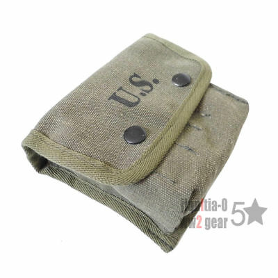 Wwii Ww2 Us Army M2 Jungle First Aid Kit Pouch Bag 1943 Soldier Gear