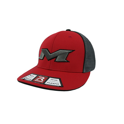 Miken Hat by Richardson (R165)  Red/Charcoal/Red/Black/Charcoal SM/MD