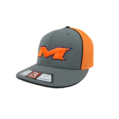 Miken Hat by Richardson (R165) Graphite/Neon Orange/Graph/Purple/Neon Org sm/md