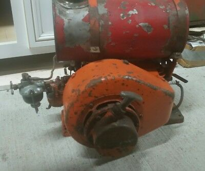 Vintage Jacobsen 2 Stroke Engine Runs  vintage lawn mower engine  Gravely