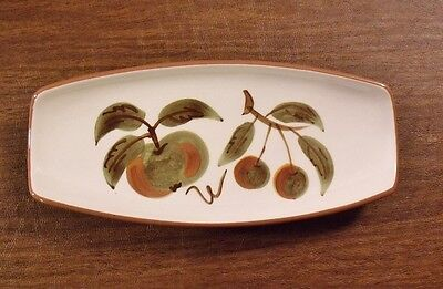 """Stangl ORCHARD SONG 10-3/8"""" Pickle Dish MINT"""