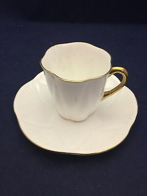 Shelley Regency Dainty Demitasse Cup And Saucer