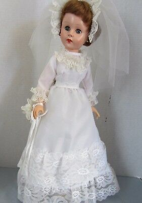 """Vintage Bride doll, 20"""" tall, Marked 20 HD or HH,"""