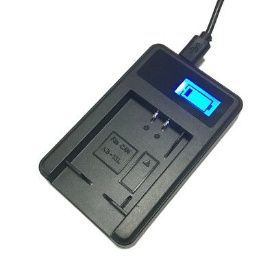 LCD USB Battery Charger For Olympus PS-BLS1 BLS5 EPL1 EPL3 EPL5 EP1 EP2 EP3 EPL6