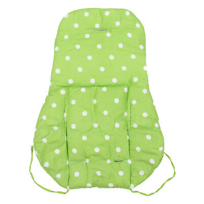 Thick Infant Stroller Car Seat Pushchair Cushion Cotton Cover Mat Green F9W2
