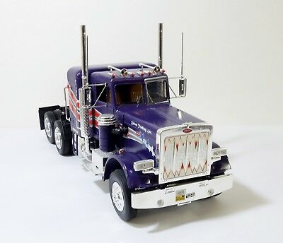 Revell Peterbilt 359 Conventional Tractor 1:25 Scale Plastic Assembled Kit