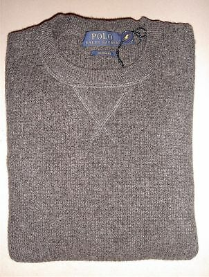 $350 Polo Ralph Lauren Cashmere Men's Waffle Knit Sweater Size: Medium