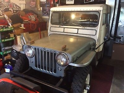 1951 willys cj-3a original, 2 owner, gray hardtop, excellent condition