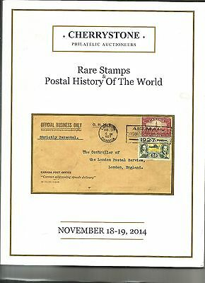 Cherrystone Catalog.specialized,nov.2014 Rare Stamps&p.h Of The World.russia,asi