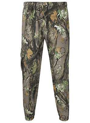 Mens Camouflage Track Suit Joggers Hoody Fishing Hunting Shooting Outdoors Real