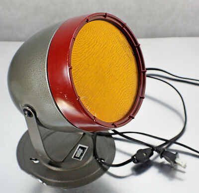 Vintage Coastar Adjustable Safelight Lamp