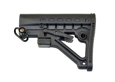 GBO Commercial Skeleton A-Frame Adjustable ButtStock / QD Swivel Butt Stock
