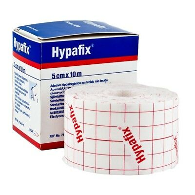 Hypafix Self Adhesive Dressing Retention Tape Thin 5cm x 10 meter Non-Woven