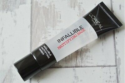 L'Oreal Paris Infallible Priming Base loreal  primer mattifying  MATTE PRIMER