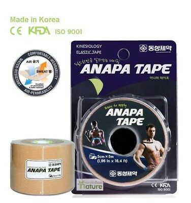 Anapa Kinesiology Tape Sports Muscles Running Care Elastic Physio Therapeutic
