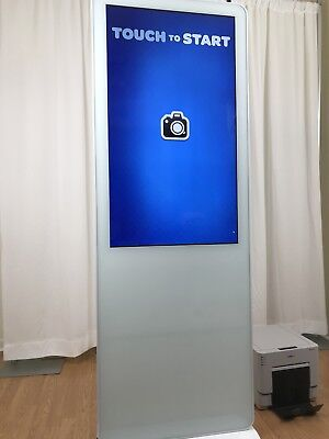 **Ultra Thin Photo Booth** Completely installed PhotoBooth  ! (Ready For Events)