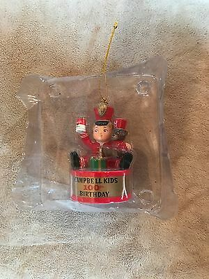 Vintage~Campbell Kids~Ornament~100th Birthday~Teddy~Soldier~Soup~Decor~Decor~