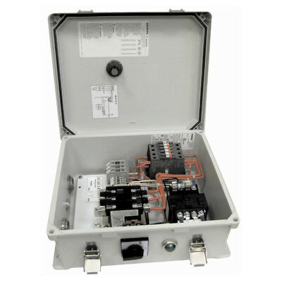 Multiquip CB1463 460-Volt 3-K63 Heater Magnetic Start Control Box, Gray