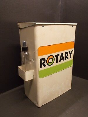 Vintage Service Station Paper Towel Windshield Service Box w/Replacement Bottles