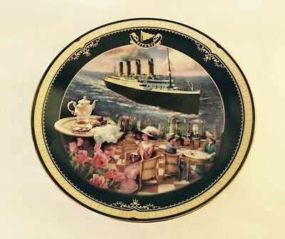 Bradford TITANIC Plate THE CAFE PARISIEN 1999 5th Issue James Griffin