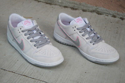 meet 396be 5004e Nike Sb Zoom Dunk Low Pro Iw Size 10 White Perfect Pink Silver Ishod 895969  160