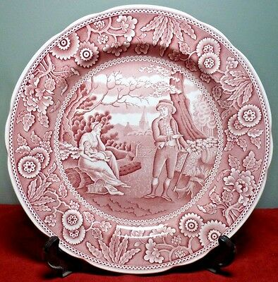 """The Spode Archive Collection Georgian Series """"WOODMAN"""" Collector Plate ~ NICE!"""