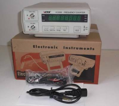 VICTOR FREQUENCY COUNTER VC2000 frequency counter