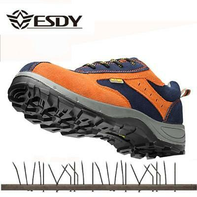 Winter Men Work Safety Shoes Steel Toe Warm Breathable Men's Casual Boots Punctu