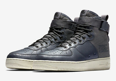 low priced 59e98 383f2 NIKE SPECIAL FIELD Af1 Mid Mens Dark Cool Grey 917753-004 New Retro Sf1  Force Og