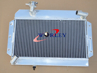 56mm For ROVER / MG MGA 1500 / 1600 / 1622 / DE-LUXE 1955-1962 Aluminum radiator
