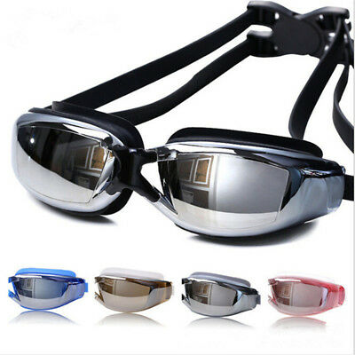 1Pair Swim Googles Professional Swiming Tool No Leaking Anti Fog UV Protection