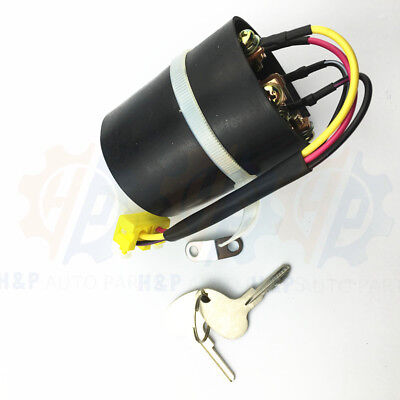 Ignition Switch Parts 1400 With 2 Keys Fits Cat Forklift Mitsubishi Caterpillar