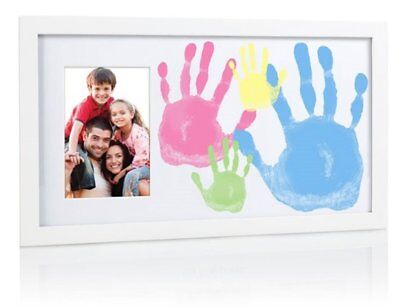 Family Handprint Picture Frame by Pearhead