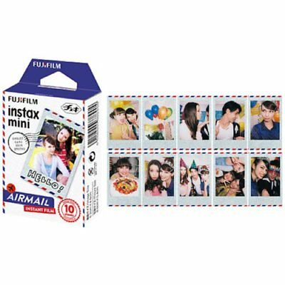 Fujifilm Instax Mini Film Airmail for Fuji Mini 90 8 25 7S 50s 55i SP-1 Cartoon