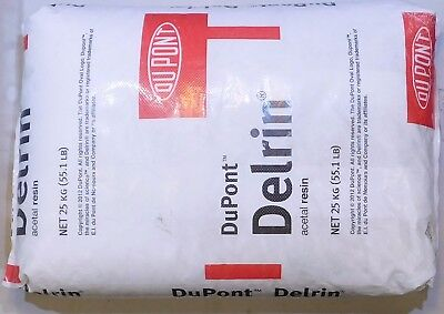 DELRIN Pellets / Granules Acetal Resin - 18 LBS WHITE BULK Virgin