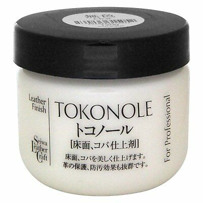 Seiwa Tokonole Leathercraft Tragacanth Leather Burnishing Gum 120ml Clear F/S