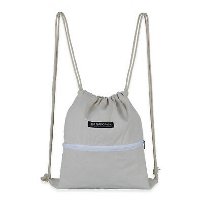 2e9dd3cf8bf7 Sport Gym Swimming School Shopping Sack Drawstring Shoes Bag Pack Pouch  Backpack