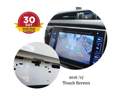 Reverse Camera Kit for Toyota Hilux Factory Screen 2016 - 2018 SR Workmate &