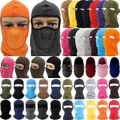 Balaclava Full Face Mask Cycling Motorcycle Bike Hat Ski Neck Helmet Hat Outdoor
