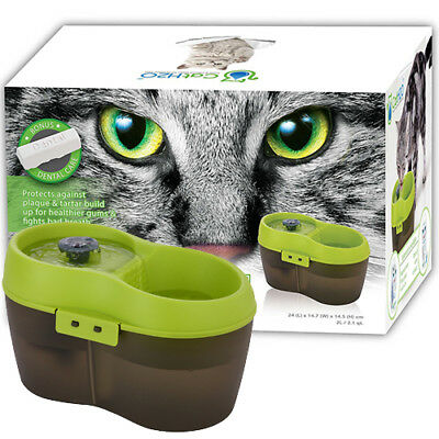 CAT PET DOG KITTEN FRESH WATER BOWL DRINKING FOUNTAIN DRINK FILTER CATS H2o