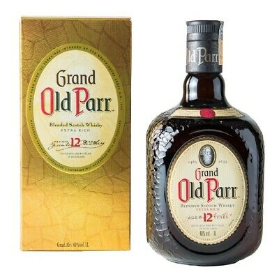 Grand Old Parr blended Scotch whisky 1000mL