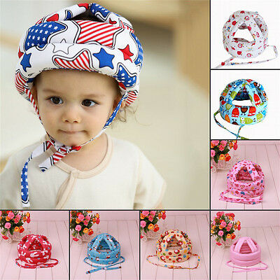 Baby Safety Helmet Head Protector Toddler Kids Head Guard Soft Sponge Cap Hat
