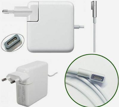 "Alimentatore Magsafe 60W Per Apple Macbook Pro  "" Compatibile """