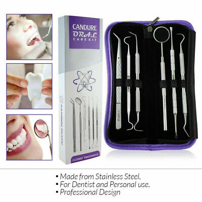 Dental Care kit Dentist Mirror Tooth Teeth Whitening Dental Floss Dental Pick