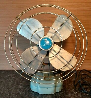"Vintage 10"" Western Auto Fan Mod# 6Jc2002A Working"