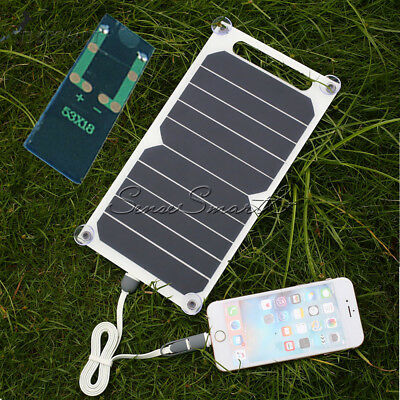 10W 5V Portable Solar USB Charger Power Charging Panel for Samsung IPhone Tablet