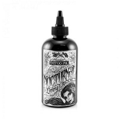 NOCTURNAL Tattoo Ink - LINING & SHADING BLACK - UK Supplier, Genuine Nocturnal