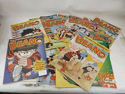 Job Lot of Beano Comics From 1998/99 GOOD Condition